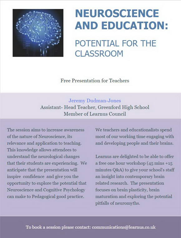 The High Cost Of Neuromyths In Education >> Learning Skills Research Our Work